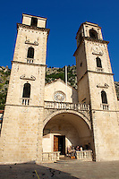 Cathedral of St Tryphon (1166) Kotor, Montenegro