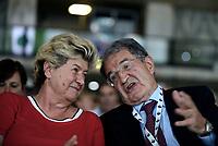 Roma, 29 Giugno 2017<br /> Susanna Camusso e Romano Prodi<br /> Palazzo dei Congressi<br /> XVIII Congresso confederale CISL