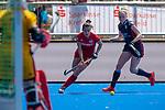 Krefeld, Germany, May 18: During the Final4 semi-final fieldhockey match between Mannheimer HC and Duesseldorfer HC on May 18, 2019 at Gerd-Wellen Hockeyanlage in Krefeld, Germany. (worldsportpics Copyright Dirk Markgraf) ***