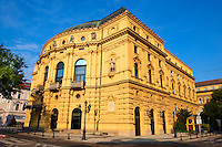 Szeged National Theatre exterior. Neo Baroque (1885). Hungary