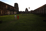 Dusk at Angkor Wat, Cambodia. June 9, 2013.