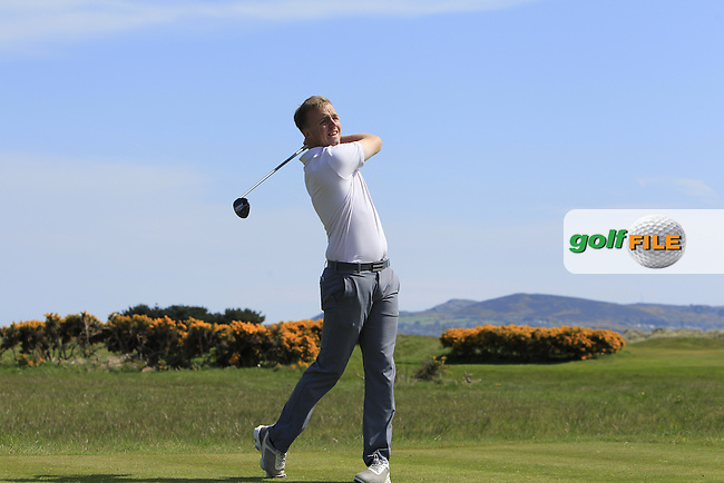 Thomas Mulligan (Co. Louth) on the 13th tee during Round 4 of the Flogas Irish Amateur Open Championship at Royal Dublin on Sunday 8th May 2016.<br /> Picture:  Golffile / Thos Caffrey