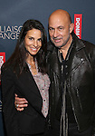 Joyce Varvatos and Designer John Varvatos attend the Broadway Opening Night Performance of 'Les Liaisons Dangereuses'  at The Booth Theatre on October 30, 2016 in New York City.