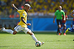 Daniel Alves (BRA), JUNE 28, 2014 - Football / Soccer : FIFA World Cup Brazil 2014 round of 16 match between Brazil and Chile at Estadio Mineirao in Belo Horizonte, Brazil. (Photo by FAR EAST PRESS/AFLO)
