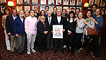 Todd Haimes and friends attend the Todd Haimes' Sardi's Caricature Unveiling at Sardi's  on June 7, 2017 in New York City.