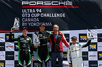Porsche GT3 Cup Canada, Race 2, Platinum Podium