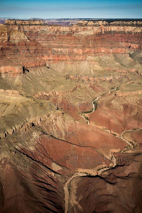 Parco Nazionale del Grand Canyon nella foto il parco Arizona geografico 08/10/2017 foto Matteo Biatta Grand Canyon National Park in the picture the park geographic Arizona 08/10/2017 photo by Matteo Biatta
