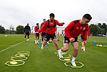 Enda Stevens of Sheffield Utd during the training session at the Shirecliffe Training complex, Sheffield. Picture date: June 27th 2017. Pic credit should read: Simon Bellis/Sportimage