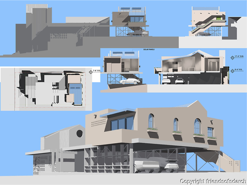 Professional Entry. Michael Fontanilla, Sandra Plaza, Christina Rodriguez of Architecture for Humanity San Diego.