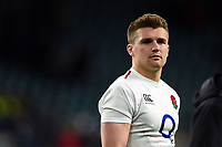 Henry Slade of England looks on after the match. Guinness Six Nations match between England and Italy on March 9, 2019 at Twickenham Stadium in London, England. Photo by: Patrick Khachfe / Onside Images