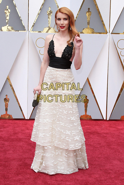 26 February 2017 - Hollywood, California - Emma Roberts. 89th Annual Academy Awards presented by the Academy of Motion Picture Arts and Sciences held at Hollywood &amp; Highland Center. <br /> CAP/ADM<br /> &copy;ADM/Capital Pictures