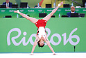 Ryohei Kato (JPN), <br /> AUGUST 6, 2016 - Artistic Gymnastics : <br /> Men's Qualification <br /> Floor Exercise <br /> at Rio Olympic Arena <br /> during the Rio 2016 Olympic Games in Rio de Janeiro, Brazil. <br /> (Photo by Sho Tamura/AFLO SPORT)