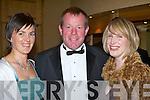 l-r: Aoife Ni? Mhuiri? , Toma?s Hanafin and Susan Motherway    all sat nite ball itt   Copyright Kerry's Eye 2008
