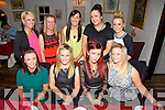 Girls Night Out at Cassidys on Saturday  Front left to right, Andrea Moriarty, Niamh Stack, Tracey Stack, Karen Pullen.  Back left to right, Kelly Robbins, Ciara Savage, Yvonne Savage, Adrienne O'Callaghan, Alison O'Brien