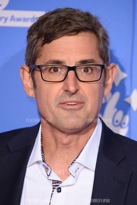 LONDON, UK. September 21, 2018: Louis Theroux at the National Lottery Awards 2018 at the BBC Television Centre, London.<br /> Picture: Steve Vas/Featureflash