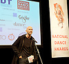 The Critics' Circle National Dance Awards 2015 <br /> at The Place, London, Great Britain <br /> 25th January 2016 <br /> <br /> <br /> <br /> BEST CLASSICAL CHOREOGRAPHY<br /> Wayne Mcgregor (Woolf Works for The Royal Ballet)<br /> <br /> <br /> Photograph by Elliott Franks <br /> Image licensed to Elliott Franks Photography Services