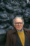 Luigi Malerba, Italian writer.