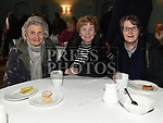 Moire McQuillan, Phyliss Kinney and Muriel Armstrong at the coffee morning in Annesbrook House Duleek in aid of St. Peters Church of Ireland Drogheda. Photo:Colin Bell/pressphotos.ie