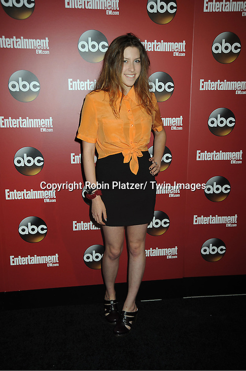 "Eden Sher of "" The Middle"" at the Entertainment Weekly and ABC-TV Upfront Party at The General on May 14, 2013 in New York City."