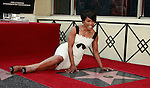Actress Angela Bassett receives a star on the Hollywood Walk of Fame in Los Angeles, California on March 20, 2008. Photopro.