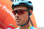Luis Leon Sanchez (ESP) Astana Pro Team at sign on before the start of Stage 4 of La Vuelta 2019 running 175.5km from Cullera to El Puig, Spain. 27th August 2019.<br /> Picture: Eoin Clarke | Cyclefile<br /> <br /> All photos usage must carry mandatory copyright credit (© Cyclefile | Eoin Clarke)