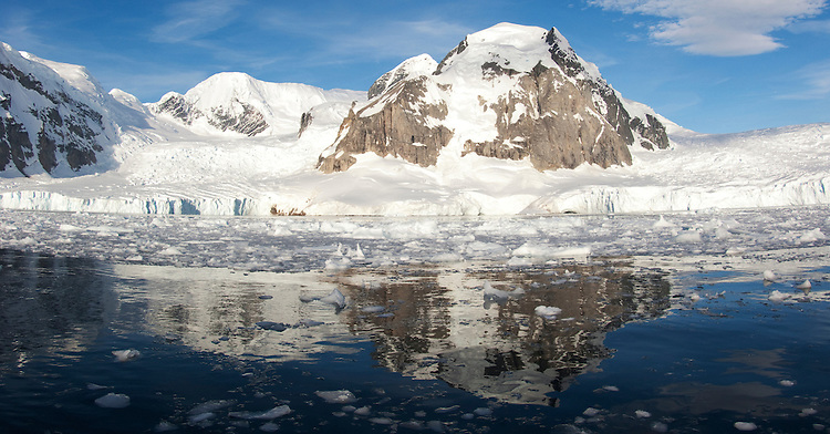 An Antarctic bay behind Danco Island, Antarctic Peninsula