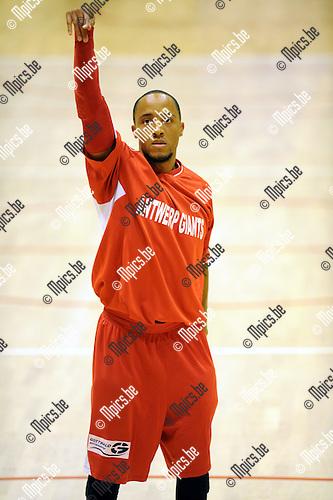 2011-09-10 / Basketbal / seizoen 2011-2012 / Antwerp Giants / Timothy Black..Foto: Mpics