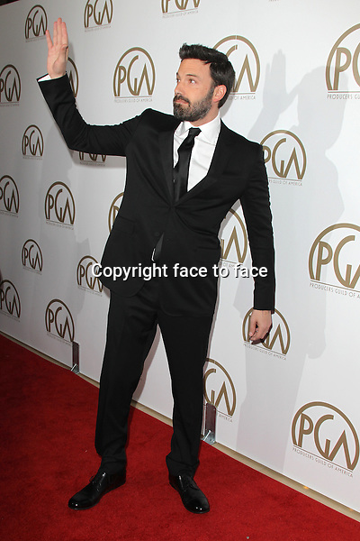 BEVERLY HILLS, CA - JANUARY 26: Ben Affleck at the 24th Annual Producers Guild of America Awards at The Beverly Hilton Hotel in Beverly Hills, California...Credit: MediaPunch/face to face..- Germany, Austria, Switzerland, Eastern Europe, Australia, UK, USA, Taiwan, Singapore, China, Malaysia and Thailand rights only -