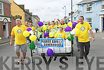 In bed with Billy: Friends of the Saoirse Foundation got together and organized a bed push from Ballybunion to Asdee with Billy Keane. It was held on Saturday last and the money raised goes to the Bee For Battens campaign.