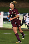07 November 2008: Boston College's Amy Caldwell. The University of North Carolina Tarheels defeated Boston College Eagles 2-0  at WakeMed Stadium at WakeMed Soccer Park in Cary, NC in a women's ACC tournament semifinal game.