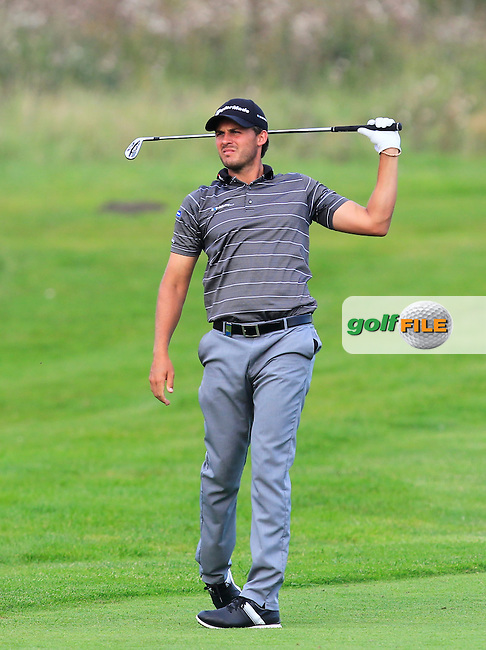 Chris Hanson (ENG) on the 6th fairway during Round 1 of the Made in Denmark 2016 at the Himmerland Golf Resort, Farso, Denmark on Thursday 25th August 2016.<br /> Picture:  Thos Caffrey / www.golffile.ie<br /> <br /> All photos usage must carry mandatory copyright credit   (&copy; Golffile | Thos Caffrey)
