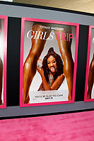 "LOS ANGELES - JUL 13:  Girls Trip Poster of Tiffany Haddish at the ""Girls Trip"" Premiere at the Regal Cinemas on July 13, 2017 in Los Angeles, CA"