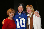 Posing with Tom Pelphrey is his grandmother Eileen and mom Laurie (R) - Tom Pelphrey acts in the Apothecary Theater Company's production of An Evening of Don Nigro on Dec. 14 running until Dec. 20 at Theatre 54, New York City, NY. Tom Pelphrey stars with Kate Russell (was on AMC) in two acts  - 1) Wonders of the Invisible World Revealed and 2) Fair Rosamund and Her Murderer. (Photo by Sue Coflin/Max Photos)