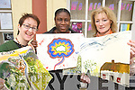 Celebrating International Womens day at Tralee womens  Resource Centre Ashe Street, with a free art day on Friday Muirosa Murphy, Christina Popoola and Anne Norton.