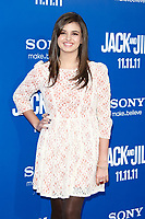 "LOS ANGELES - NOV 6:  Rebecca Black at the ""Jack and Jill"" Premiere at the Village Theater on November 6, 2011 in Westwood, CA"