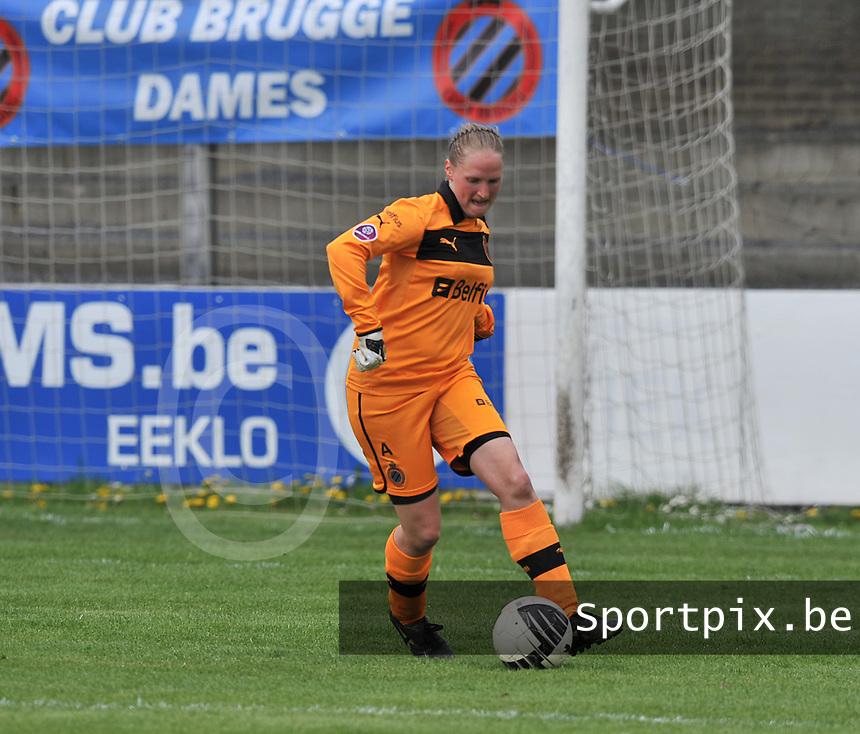 Club Brugge Dames - STVV Sint Truidense VV : Kim Dossche.foto DAVID CATRY / Nikonpro.be