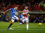 James Tavernier fails to hit the back of the net