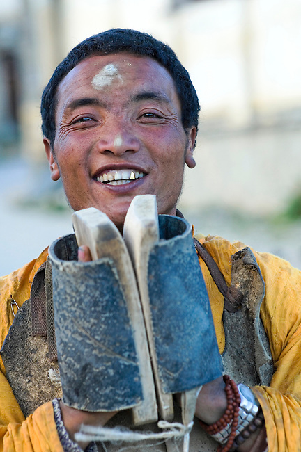 Tibetian Minority of Yunnan's Zhongdian District maintain their traditions of farming and religion.
