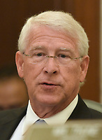 United States Senator Roger Wicker (Republican of Mississippi) listens to testimony before the United States Senate Committee on Commerce, Science, and Transportation on Capitol Hill in Washington, DC on Wednesday, September 27, 2017.<br />