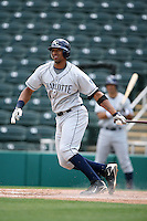 April 13, 2009:  First baseman Matt Fields of the Charlotte Stone Crabs, Florida State League Class-A affiliate of the Tampa Bay Rays, during a game at Hammond Stadium in Fort Myers, FL.  Photo by:  Mike Janes/Four Seam Images