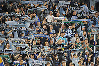 Kansas City, KS. - March 15 2014: Sporting Kansas City tied FC Dallas 1-1 in a Major League Soccer (MLS) game at Sporting Park.