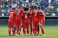 Toronto FC,..Kansas City Wizards defeated Toronto FC 1-0 at Community America Ballpark, Kansas City, Kansas.