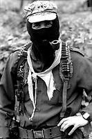 Messico, Chiapas, La Realidad 1996.Sub comandante Marcos.Mexico, Chiapas, La Realidad 1996.Sub Commander Marcos