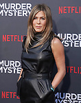 "Jennifer Aniston 061 arrives at the LA Premiere Of Netflix's ""Murder Mystery"" at Regency Village Theatre on June 10, 2019 in Westwood, California"