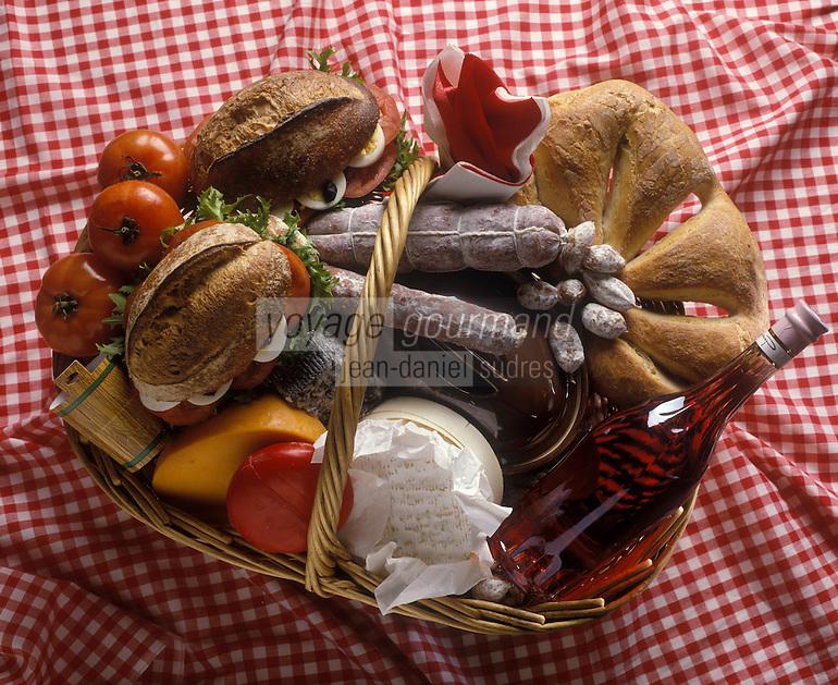 Gastronomie Générale: Panier de Pique-nique