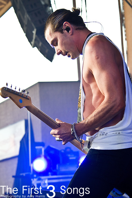 Gavin Rossdale of Bush performs at the Klipsch Music Center in Indianapolis, IN.