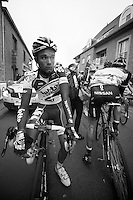 3 Days of West-Flanders, .day 2: Brugge-Kortrijk/Bellegem.Tosh Van der Sande post-race..