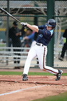 Danny Serretti (10) of Governor Livingston High School in Berkeley Heights, New Jersey during the Under Armour All-American Pre-Season Tournament presented by Baseball Factory on January 14, 2017 at Sloan Park in Mesa, Arizona.  (Art Foxall/MJP/Four Seam Images)