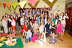 Amy Abrahams, Farmers Bridge celebrating her 21st Birthday with family and friends at Na Gaeil Clubhouse on Saturday