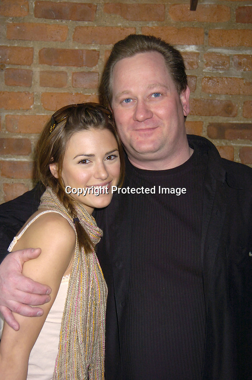 Elizabeth Hendrickson and Richie Byrne ..at a luncheon at The Town Tavern in New York City on ..January 29, 2005, with a portion of the  proceeds going to..support breast cancer research. ..Photo by Robin Platzer, Twin Images